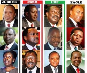 Kenya Presidential Candidates 2013